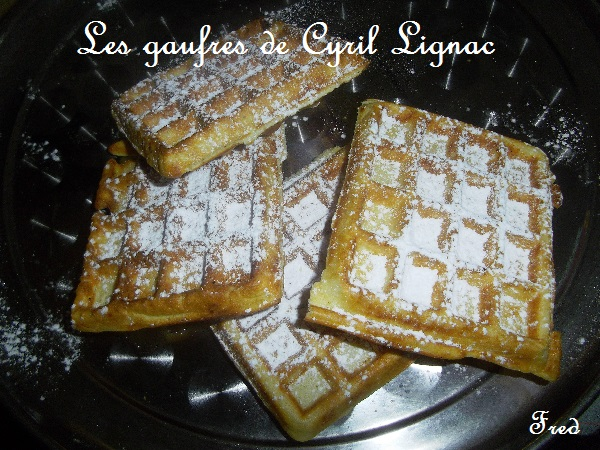 Les gaufres de cyril lignac la cuisine des mamans - Pate a gaufre cyril lignac ...