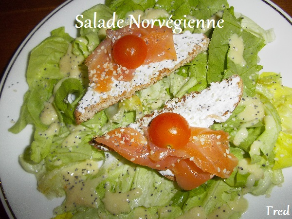 salade norv gienne la cuisine des mamans. Black Bedroom Furniture Sets. Home Design Ideas