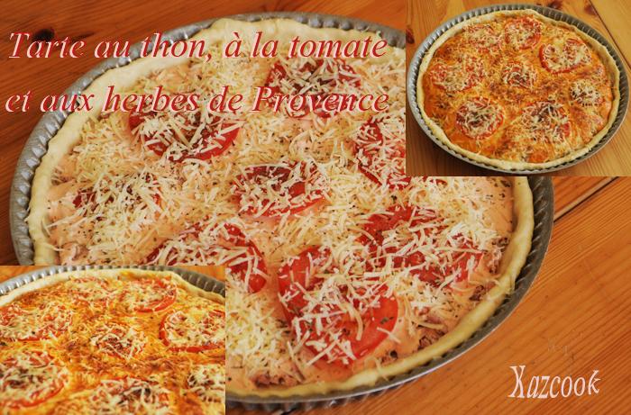 tarte thon tomate et herbes de provence la cuisine des mamans. Black Bedroom Furniture Sets. Home Design Ideas